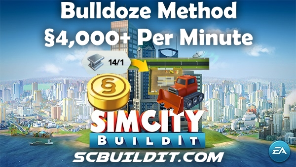 Bulldoze - 4k per Minute New