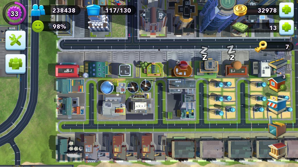 City Layout - Industry