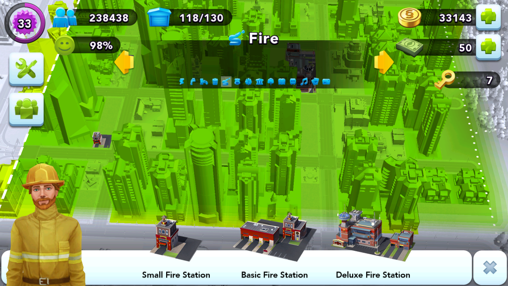City Layout - Fire