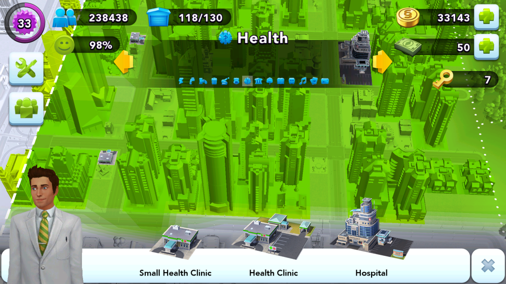 City Layout - Health