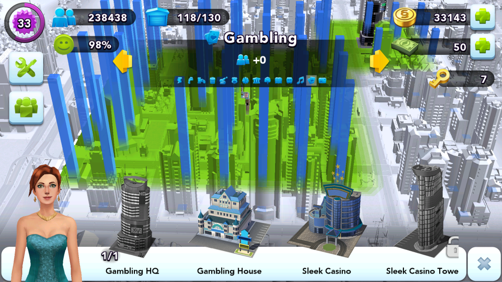 City Layout - Gambling