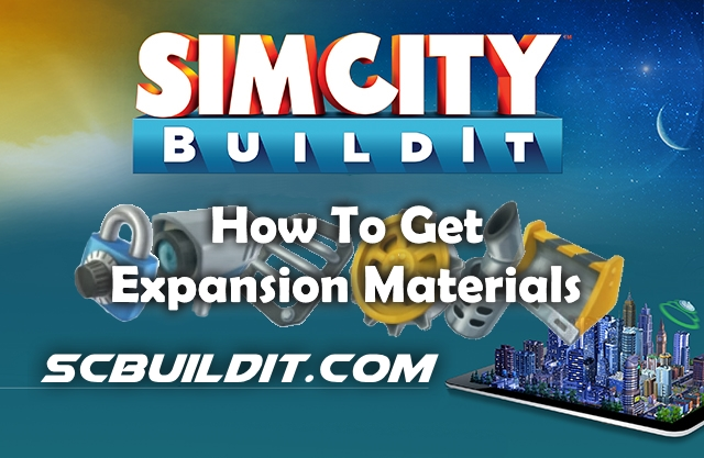 How To Get Expansion Materials